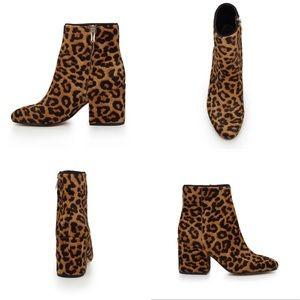 Sam Edelman Taye Leopard Ankle Boots, 6